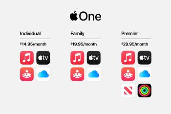 The Apple One bundle rolls a Music, TV+, News, Arcade and iCloud subscription into one low price