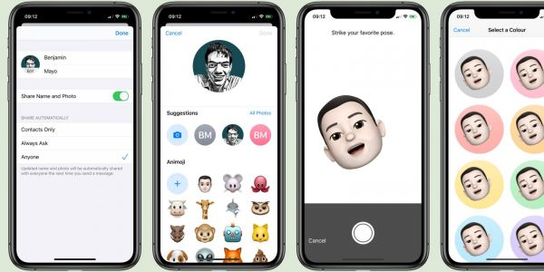 IOS 13 Messages: How to choose profile photo and display name for iMessage