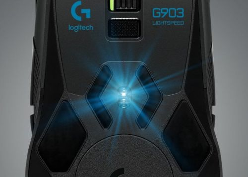 Logitech G903 gaming mouse now equipped with HERO 16K sensor