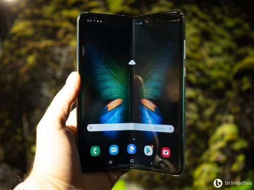 I went hands on with the Galaxy Fold, and I love it!