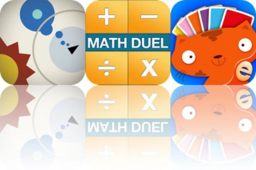 Today's Apps Gone Free: Abzorb, Math Duel and Colors Memory Match