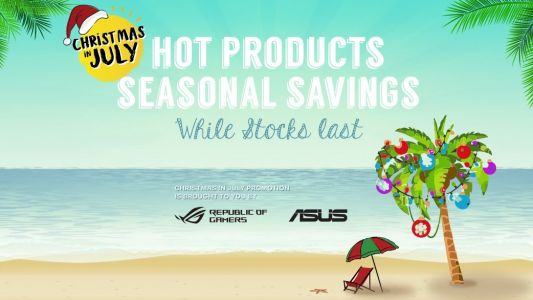 Asus isn't waiting for Amazon Prime Day with its killer Christmas in July sales