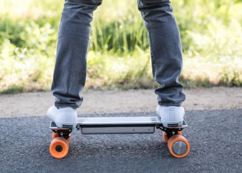 I-Ride Compact Electric Skateboard Is Small Enough To Fit In Your Backpack