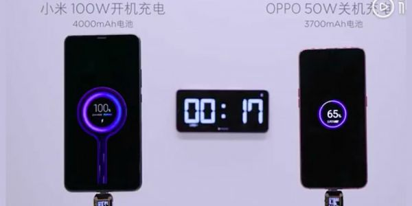 Xiaomi teases insane 100W smartphone charging tech taking you from 0 to 100% in 17 mins