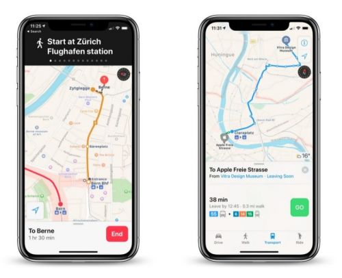 Apple Maps Now Provides Transit Directions Across Switzerland
