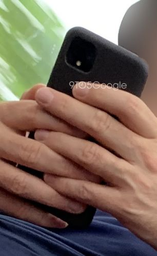 The Pixel 4 with its square camera module has just been spotted in the wild