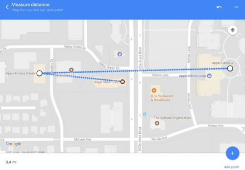 Google Maps App Update Brings 'Measure Distance' Feature to iPhone and iPad