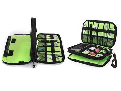 Keep all your electronics close by with this discounted travel organizer
