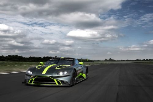 New Aston Martin Vantage GT3 And GT4 Unveiled At Le Mans