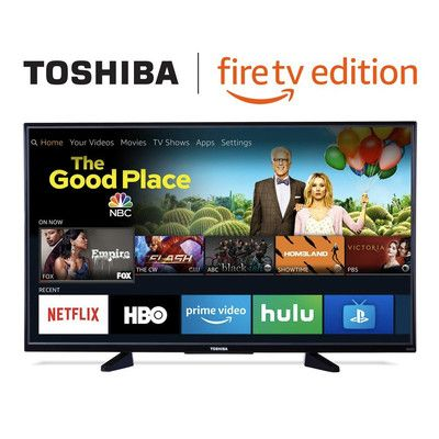 Treat yourself to Toshiba's 50-inch 4K Fire TV for just $290 today
