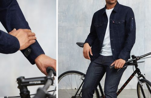 Google and Levi's 'Commuter Trucker Jacket' Lets You Control Your iPhone's Calls, Texts, and Music