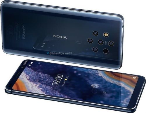 Nokia 9 PureView press shots leaked