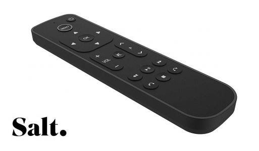 Swiss Fiber TV Service 'Salt' Launches Alternative Apple TV 4K Remote Control for Frustrated Customers