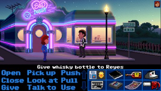 Ron Gilbert's Thimbleweed Park is now out on Switch