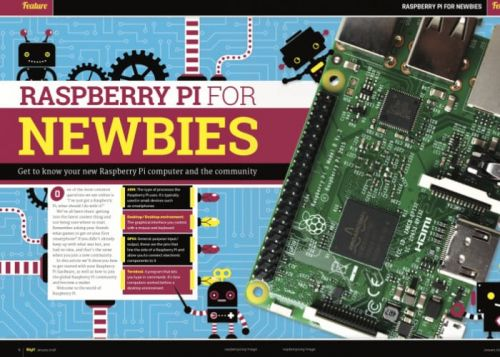 Awesome Raspberry Pi Newbies Guide And In This Months MagPi Magazine