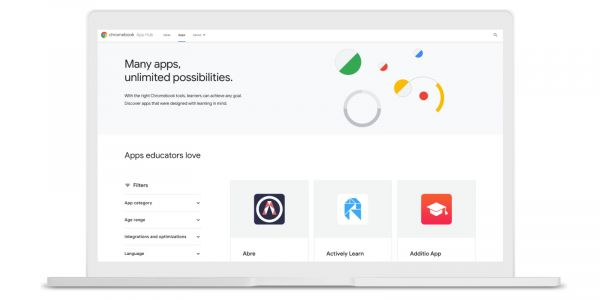 Chromebook App Hub adds search as Google Admin Console introduces app licensing system