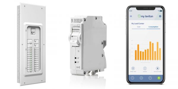 Leviton launches smart Load Center with iOS app control for circuit breakers, detailed consumption monitoring, more