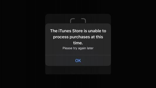 PSA: iOS users are randomly being prompted with an iTunes Store error message