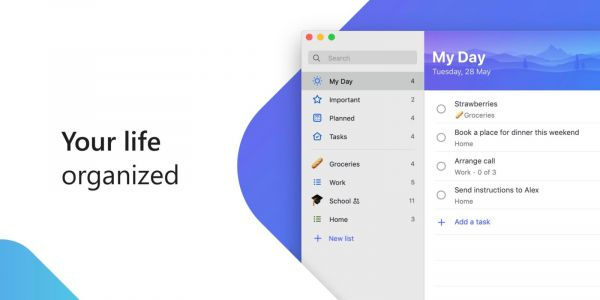 Microsoft launches its To-Do app on the Mac App Store with Outlook syncing, shared tasks, more
