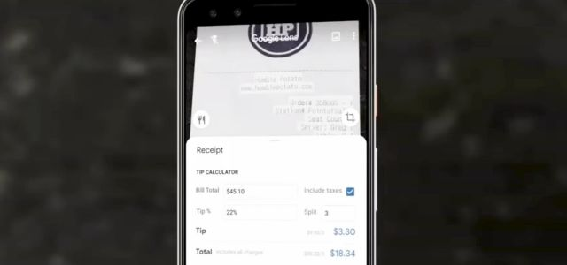 Coming Soon: Use Google Lens to Calculate Tips & Split Bills for a Group