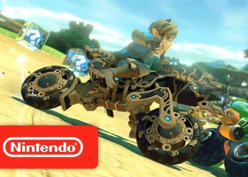 Switch Mario Kart 8 Deluxe Update Adds Zelda BotW Kart And More