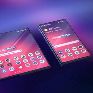 Samsung's leaked concept video inspires foldable Flex phone design art