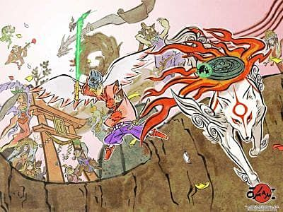 Okami HD Confirmed for PS4, Xbox One, and Microsoft Windows