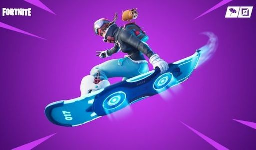 New Fortnite patch adds a hoverboard