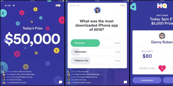 HQ Trivia app update adds native full-screen iPad layout