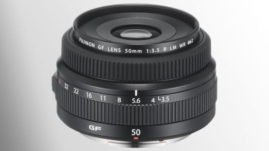 The Fujinon GF 50mm f/3.5 R is Fujifilm's most compact pancake lens yet