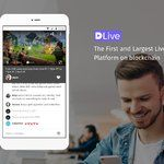 DLive delivers an Android app for their blockchain-based live streaming platform