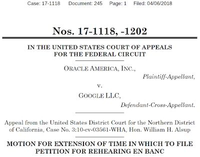 Google is preparing to petition the Federal Circuit to revisit Oracle's Android-Java copyright victory