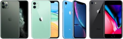 Apple's New iPhone Lineup: iPhone 11 Pro, iPhone 11, iPhone XR and iPhone 8