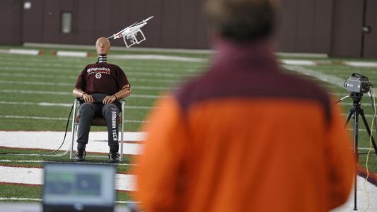 This is what happens when you get hit by a drone
