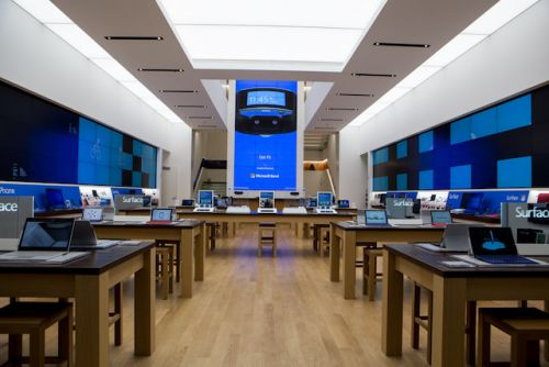 Microsoft's First London Retail Store Is Now A Possibility