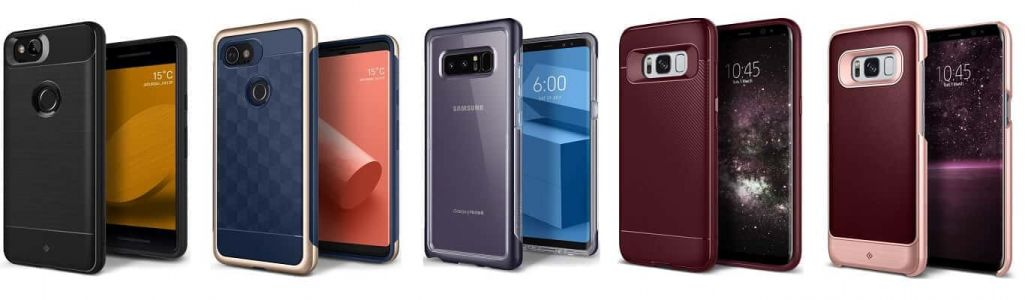 Caseology Sale: Up To 50% Off Samsung Galaxy Note 8, S8 & Google Pixel 2 Cases