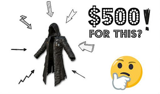 6 Most Ridiculously Expensive PUBG Items