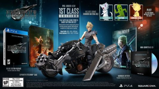Final Fantasy 7 Remake 'First Class' Collector's Edition Revealed