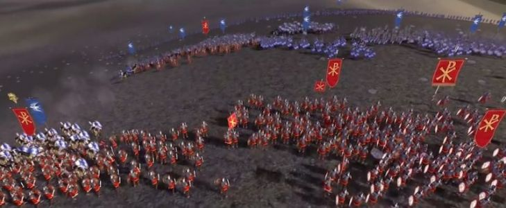 Epic Strategy Classic 'Rome: Total War - Barbarian Invasion' Released on iPhone