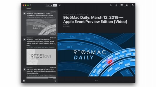 'Reeder 4' RSS app launches Mac public beta with automatic Dark Mode, iCloud sync, more