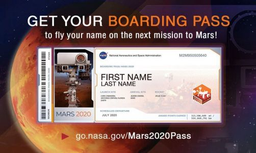 NASA Is Now Letting You Sign Up For A Boarding Pass To Mars