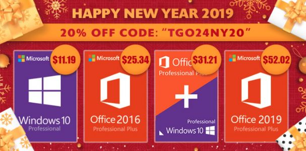 GoodOffer24's Software Promotion Includes Windows 10 Pro For $11.19 & More