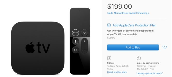 Months After Release, the 64GB Apple TV 4K is Finally Easier to Find