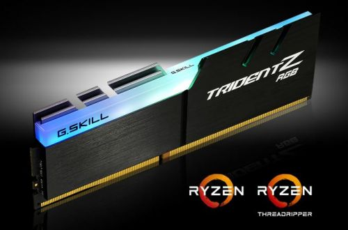 GSkill Announces New AMD Compatible Trident Z RGB Kits