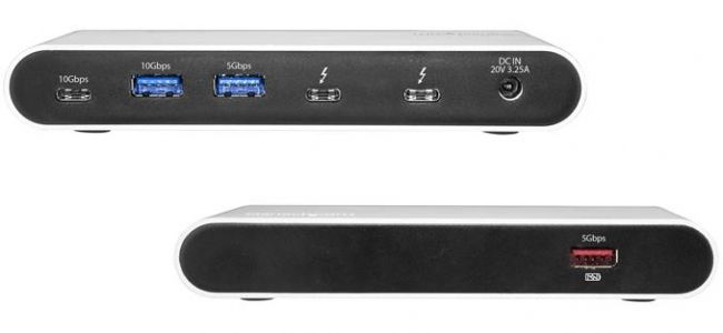 StarTech Launches Thunderbolt 3 USB Hub with 3 USB 3.1 Controllers & Power Delivery