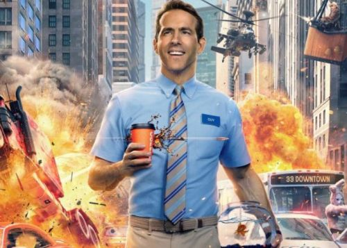 Free Guy film stars Ryan Reynolds as an NPC in an open-world video game