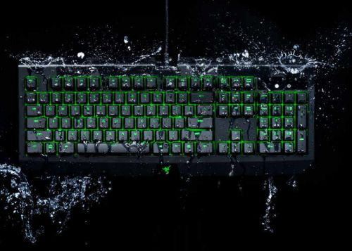New Waterproof Razer BlackWidow Ultimate Mechanical Gaming Keyboard