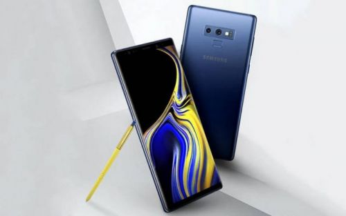 Deep Sea Blue Galaxy Note 9 Leaks In First Real-Life Image