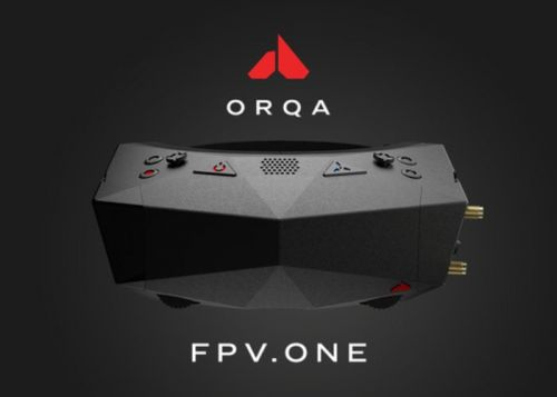 Orqa FPV.One first person view goggles for drones and more