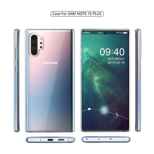 Samsung Galaxy Note10 Pro Gel Case Leaks Along With Phone Renders